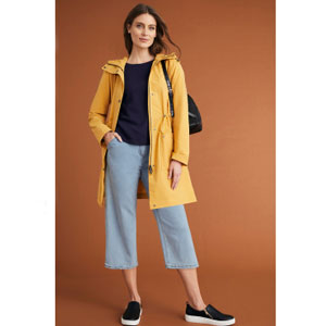 Capture Four Seasons Hooded Coat - Best Jacket for Summer: Classic style four season hooded coat