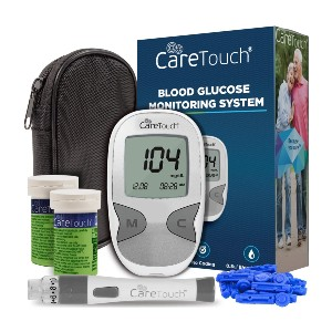 Care Touch Diabetes Testing Kit  - Best Glucometer for Home Use: Best popular pick