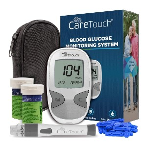 Care Touch Diabetes Testing Kit - Best Glucometer on the Market: Best popular pick