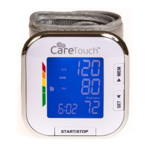 Care Touch Fully Automatic Wrist Blood Pressure Cuff Monitor - Best Wrist Blood Pressure Monitor: Unmatchable sleek design