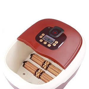 Carepeutic Waterfall Foot and Leg Spa Bath  - Best Foot Spa for Athletes: Multiple massaging bumps
