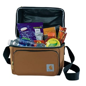 Carhartt Deluxe Dual Compartment Insulated Cooler Bag - Best Lunch Cooler for Work: Enough for 6-pack