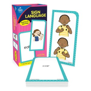 Carson Dellosa American Sign Language Flash Cards - Best Flashcards for 2 Year Olds: Best for sign language