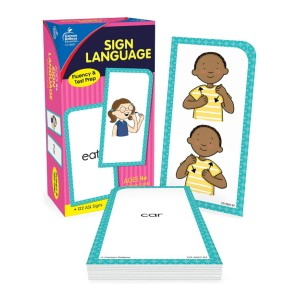 Carson Dellosa Education American Sign Language Flash Cards - Best Flashcards for Preschoolers: Best for sign language