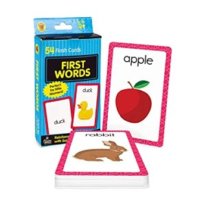 Carson Dellosa Carson Dellosa First Words Flash Cards - Best Flashcards for Preschoolers: Best for budget