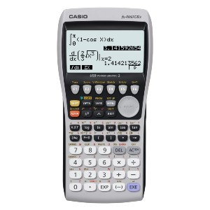 Casio fx-9860GII Graphing Calculator - Best Graphing Calculator for Finance: Illuminated Display