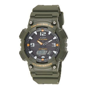 Casio Men's Solar Sport Combination Watch  - Best Solar-Powered Watches: Great power reserve