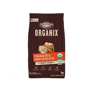 Castor & Pollux  ORGANIX Organic Chicken & Oatmeal Recipe Dry Dog Food - Best Dog Foods Made in USA: High-Quality Nutrition