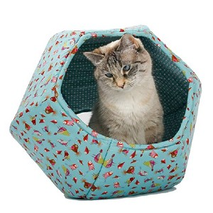 The Cat Ball Cat Bed  - Best Cat Beds for Large Cats: Additional home decor