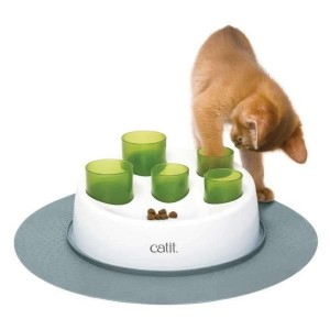 Catit Senses 2.0 Digger Interactive Cat Toy - Best Cat Toys for Home Alone: Slow Cat Feeder