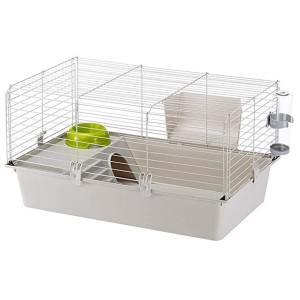 Ferplast Cavie Guinea Pig Cage & Rabbit Cage - Best Cage for Guinea Pigs: Lightweight and easy to move