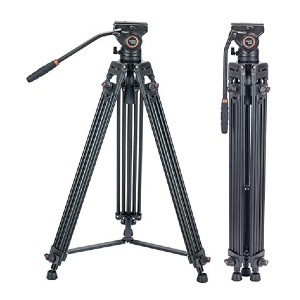 Cayer BV30L 72 inch Professional Tripod - Best Tripods for Studio Photography: Max height