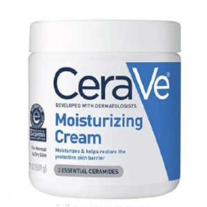 CeraVe Moisturizing Cream - Best Moisturizer for Sensitive Face Skin: Face and Body Moisturizing