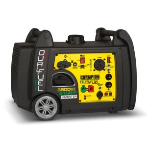 Champion 3500-Watt Dual Fuel - Best Generators for Travel Trailers: Easy, Push-Button Electric Touch Start