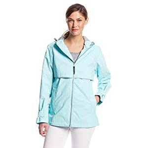 Charles River Apparel Women's New Englander Waterproof Rain Jacket - Best Raincoats for Summer: Well decorated in lovely color