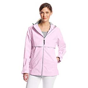 Charles River Apparel Women's New Englander - Best Raincoats with a Suit: Well decorated in lovely color