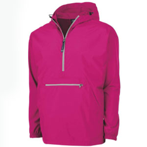 Charles River Apparel Unisex-adult Pack-n-go Wind & Water-resistant Pullover - Best Raincoats for Golf: Packable raincoat jacket