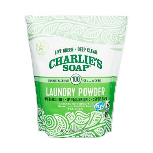Charlie's Soap Laundry Powder  - Best Laundry Detergents for Hard Water: Deep-Cleaning Detergent