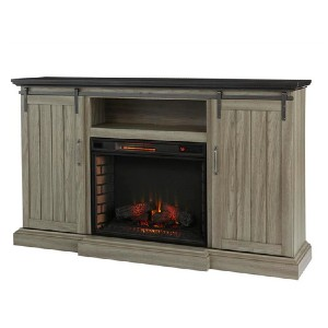 Home Decorators Collection Chastain 68 in. Freestanding Electric Fireplace - Best Electric Fireplace Freestanding: Warm and safe