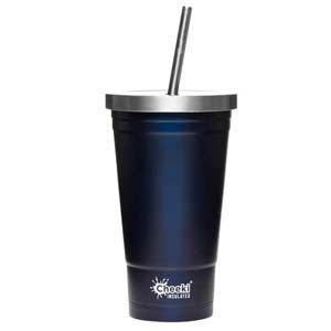 Cheeki 500ml Insulated Tumbler - Ocean - Best Tumbler for Cold Drinks: No condensation