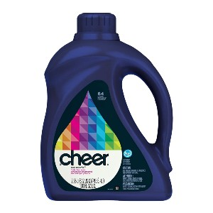Cheer HE Liquid Detergent - Best Laundry Detergents to Keep Colors from Fading: Stay Bright and Colorful Clothes