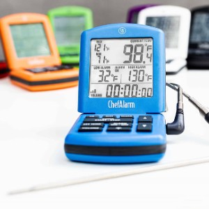 ThermoWorks ChefAlarm - Best Food Thermometer Digital: Flatten or re-angle