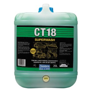Chemtech CT18 Superwash - Best Car Wash Soap: Rust inhibitors formula