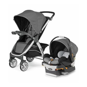 Chicco Bravo Trio - Best Stroller Car Seat Combo: Front Wheels Automatically Swivel