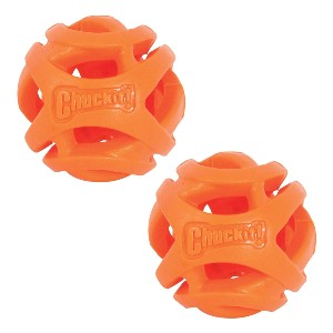 Chuckit! Breathe Right Fetch Ball - Best Dog Toys for Small Dogs: Breathed Fetch Ball