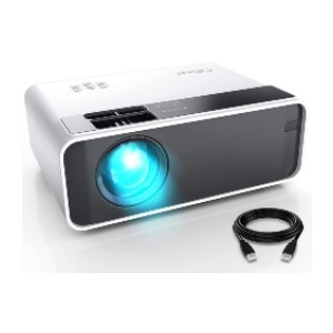 CiBest Outdoor Movie Projector - Best Projectors on Amazon: Connect to Multiple Devices