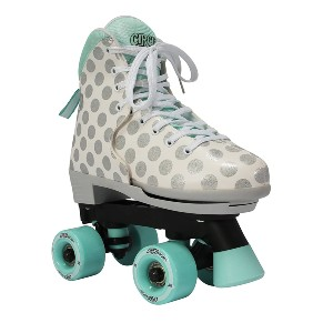 Circle Society  Classic Adjustable Indoor and Outdoor Childrens Roller Skates - Best Outdoor Roller Skates for Beginners: Cheerful Roller