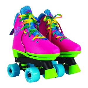 Circle Society Classic Adjustable Indoor & Outdoor Childrens Roller Skates - Best Roller Skates for Street Use: Cheerful Roller Skates