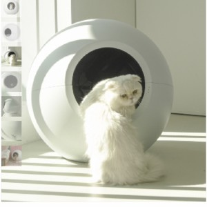 Circle 0 Self-Cleaning Litter Box - Best Self Cleaning Litter Box for Large Cats: No Complicated Settings and Buttons