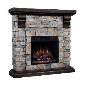 ClassicFlame 18WM10400-I601 Pioneer Stone Electric Fireplace - Best Electric Fireplace for Large Room: Elevate your living space