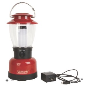 Coleman Classic Rechargeable 400L LED Lantern - Best Rechargeable Lanterns: Diffuser Tube for Perfect Beam Pattern