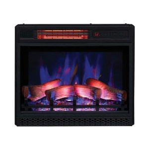 ClassicFlame 23-in 3D Spectrafire Plus Infrared Electric Fireplace - Best Electric Fireplace Under $500:  Incredible safety features