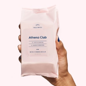 ATHENA CLUB Clean Skin in One Swipe - Best Makeup Remover for Waterproof Mascara: The Softest Wipe