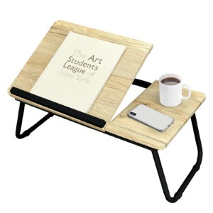 Wrought Studio™ Cleveland Foldable Laptop Tray - Best Laptop Stand for Couch: Durable and Practical