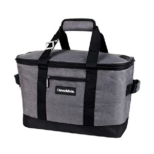 CleverMade Collapsible Cooler Bag - Best Lunch Cooler for Construction Workers: Foldable and leakproof
