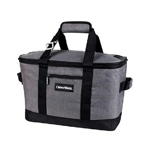 CleverMade Collapsible Cooler Bag - Best Cooler Bags for Beach: Foldable and leakproof