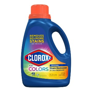 Clorox 2 Stain Remover and Color Brightener - Best Laundry Detergents to Keep Colors from Fading: Brightening and Removing Power