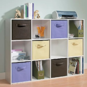ClosetMaid Cubeicals Cube Bookcase - Best Bookcases for Heavy Books: Shelves with Lids or Covers