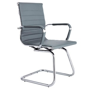 CoVibrant Modern Office Chair Without Wheels  - Best Office Chair Without Wheels: Stationary Sled Base