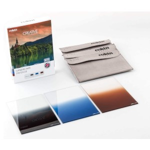 Cokin Square Filter Landscape Creative Kit - Best ND Filters for Landscape Photography: Reduces and Enhances Exposure in Select Areas