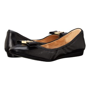 Cole Haan Tali Bow Ballet - Best Flats for Work: Lightly Padded Footbed Flats