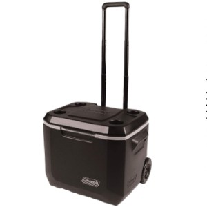 Coleman Rolling Cooler  - Best Small Portable Cooler: Practical Cooler with Wheels