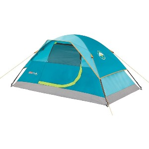 Coleman Kids Wonder Lake 2-Person Dome Tent - Best Tents Under $100: Kids Tent with Glow-The-Dark Logo