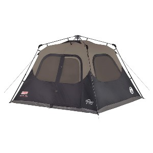 Coleman Cabin Tent with Instant Setup - Best Easy Set Up Tents: Tent with Darkroom Technology