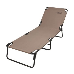 Coleman Converta Folding Cot  - Best Folding Lounge Chair: Sturdy frame