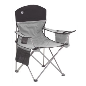 Coleman Portable Camping Quad Chair - Best Outdoor Folding Chair: With built-in cooler